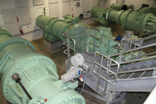 Pressure Control Hydroelectric Facility