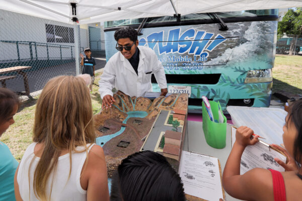 students at splash lab