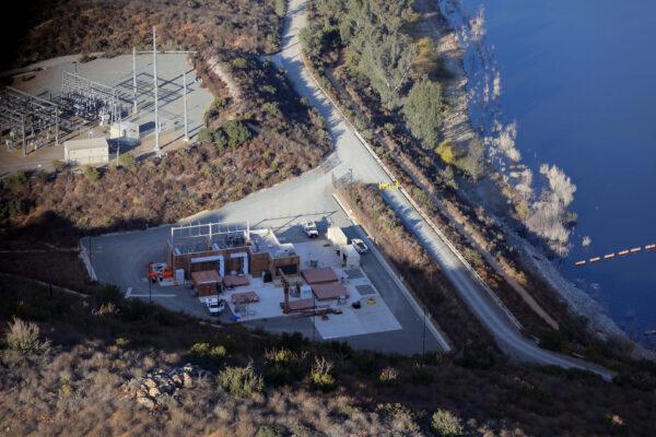 Pumped Storage Aerial